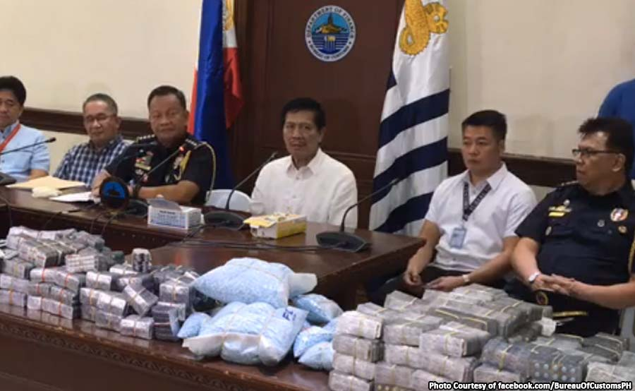 ABANTE 1b customs party drugs illegal