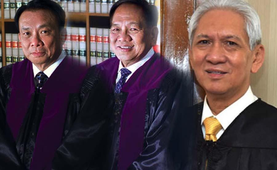 ABANTE Justices Lucas Bersamin Diosdado Peralta Samuel Martires sereno hearing