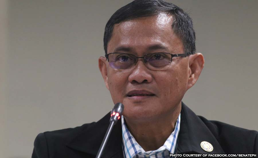ABANTE PCSO General Manager Alexander Balutan senate