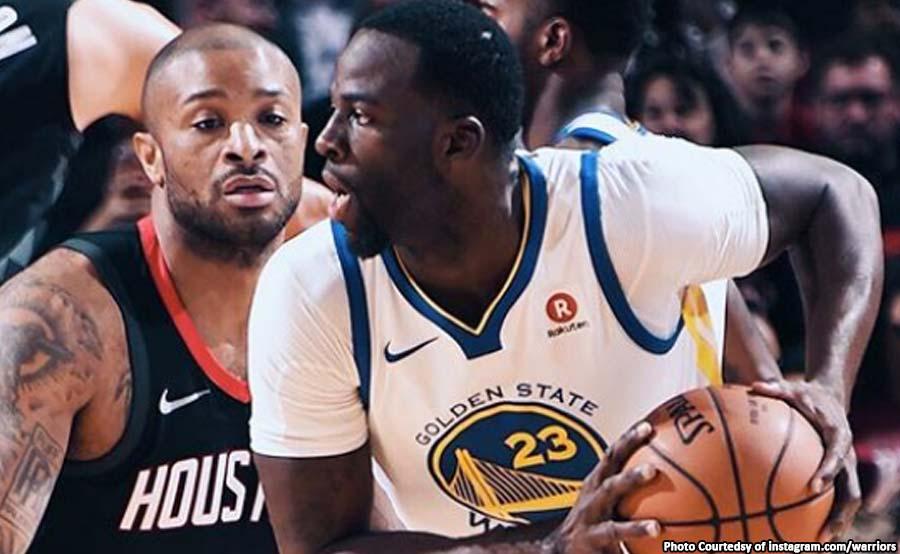 ABANTE NBA WARRIORS HOUSTON