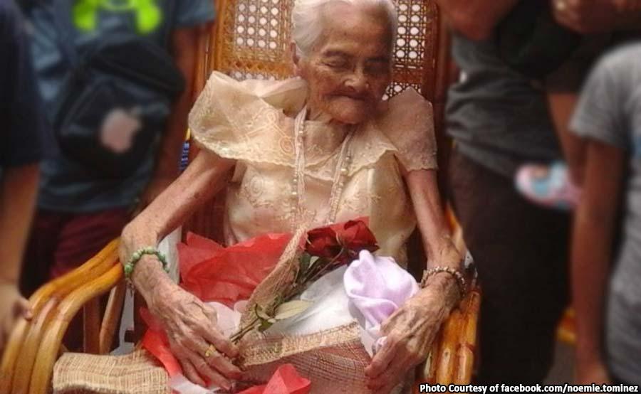 ABANTE-TNT lola Espirita Madriaga inang esper 100th birthday