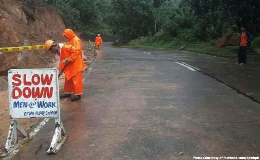 abante visayas bicol road typhoon agaton