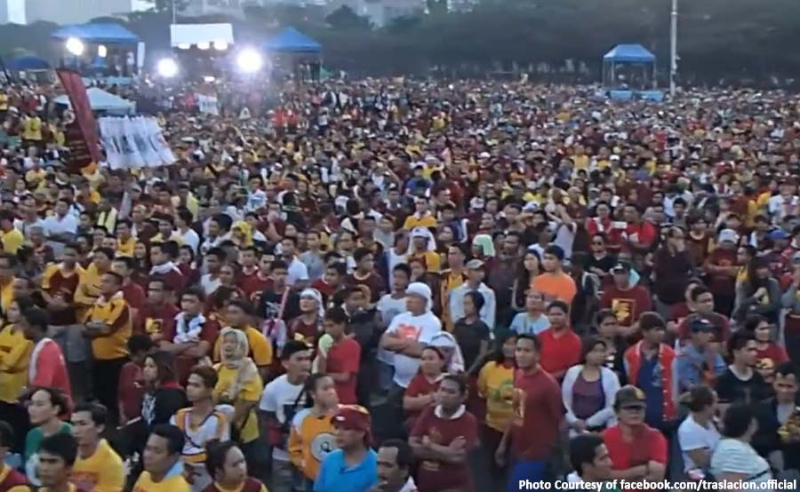ABANTE TNT traslacion 2018 nazareno quiapo