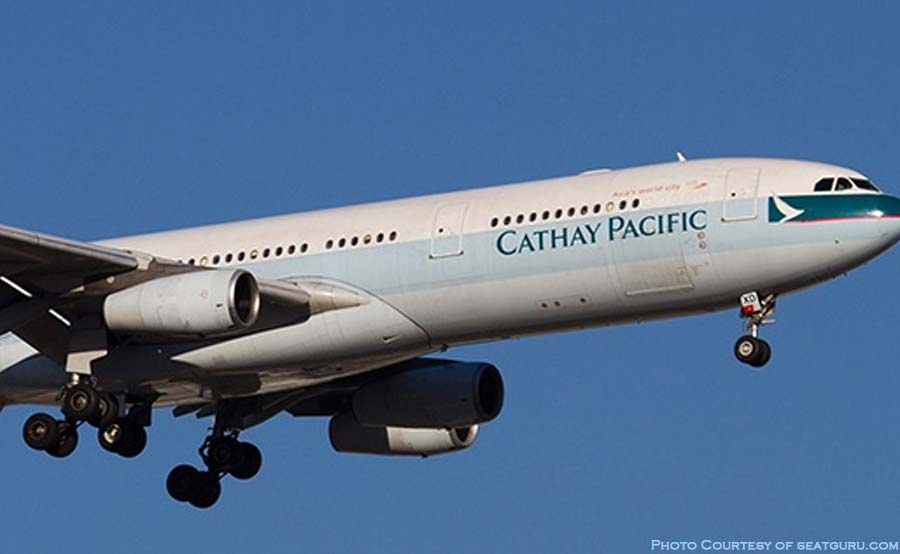 ABANTE cathay pacific CX flight 139