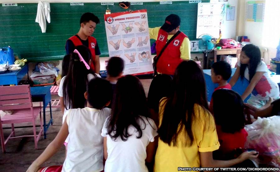 ABANTE classroom mayon bata children