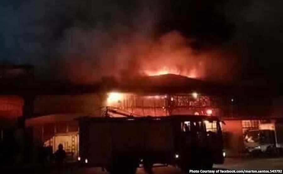 ABANTE fire sunog paranaque city 36 houses