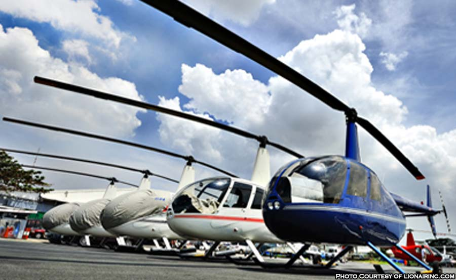 ABANTE helicopter money r44