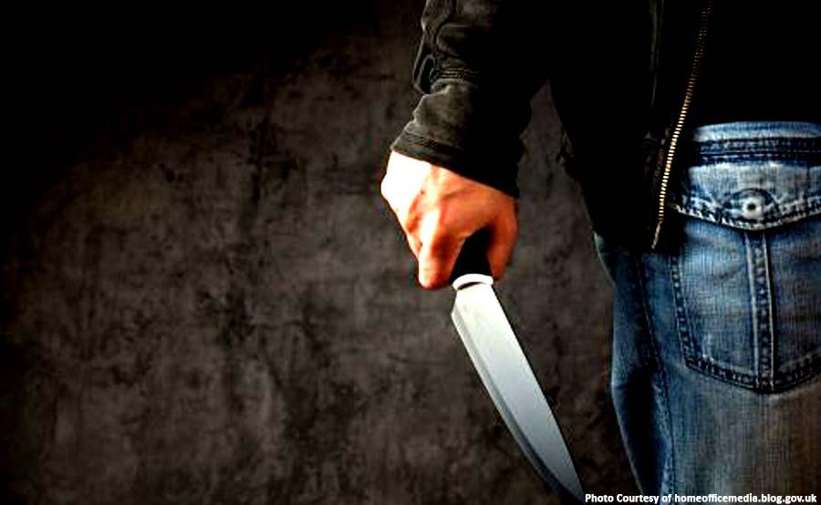 ABANTE knife kill crime smoke
