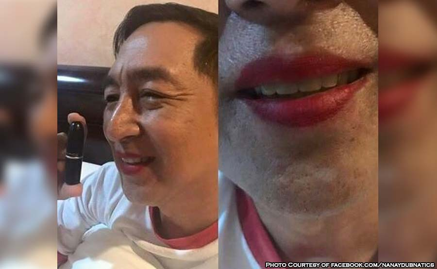 ABANTE maine mendoza dad mac lipstick