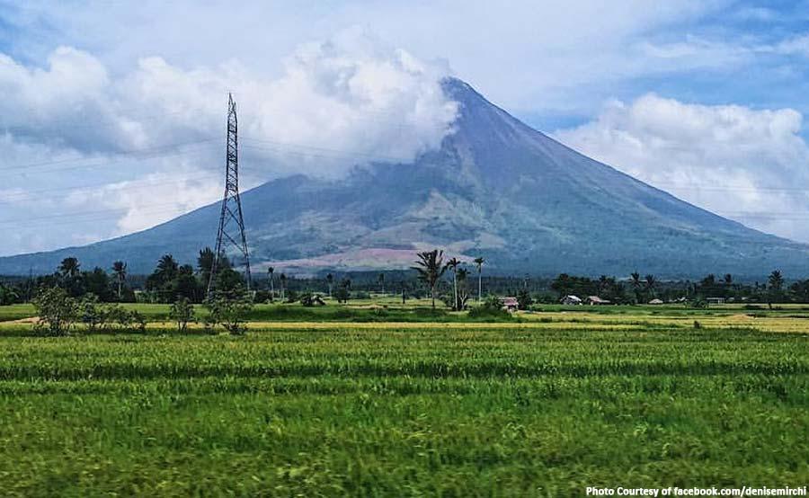 ABANTE mayon volcano equipments stolen