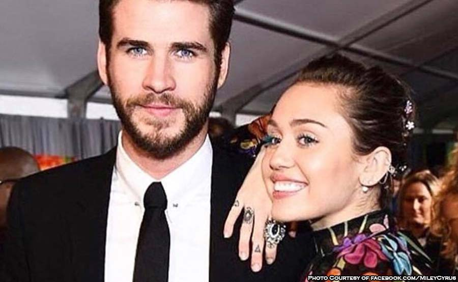 ABANTE miley liam wedding