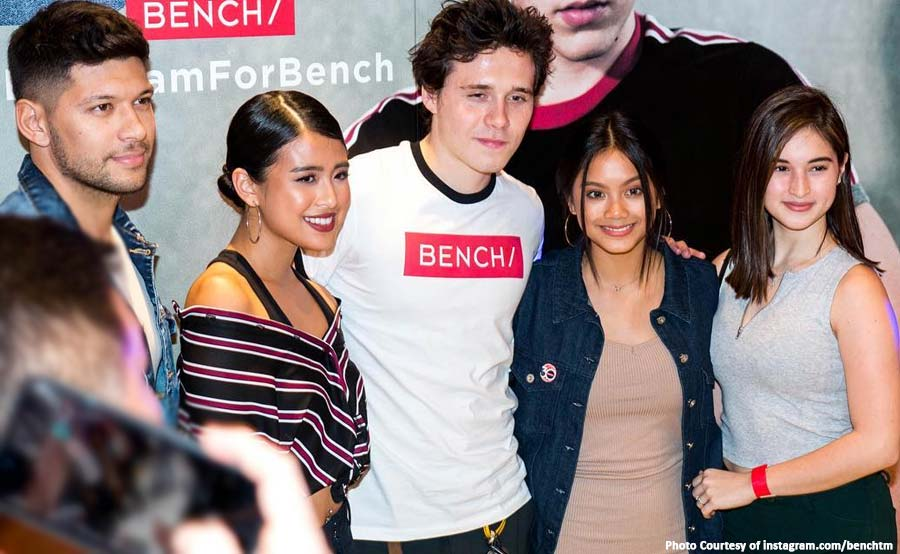 ABANTE pinoy celebrities fans brooklyn beckham bench philippines