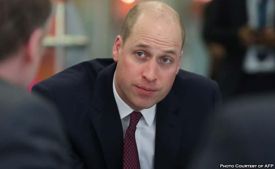 ABANTE prince william bald head