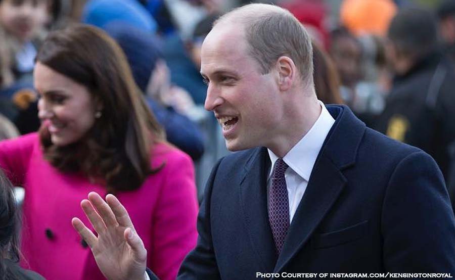 ABANTE prince william bald