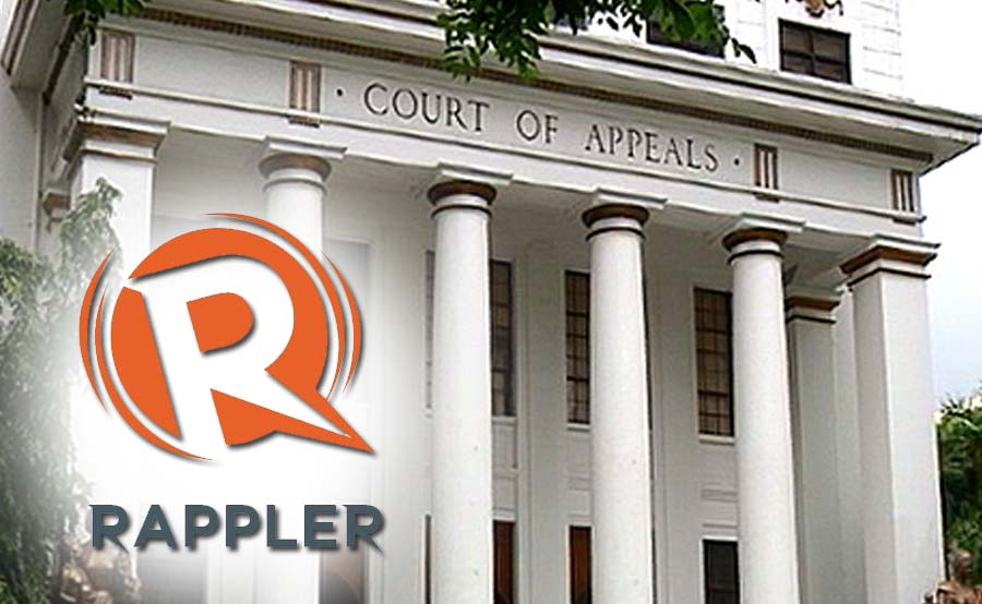 ABANTE rappler court of appeals