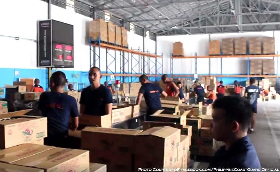 ABANTE relief goods albay bicol