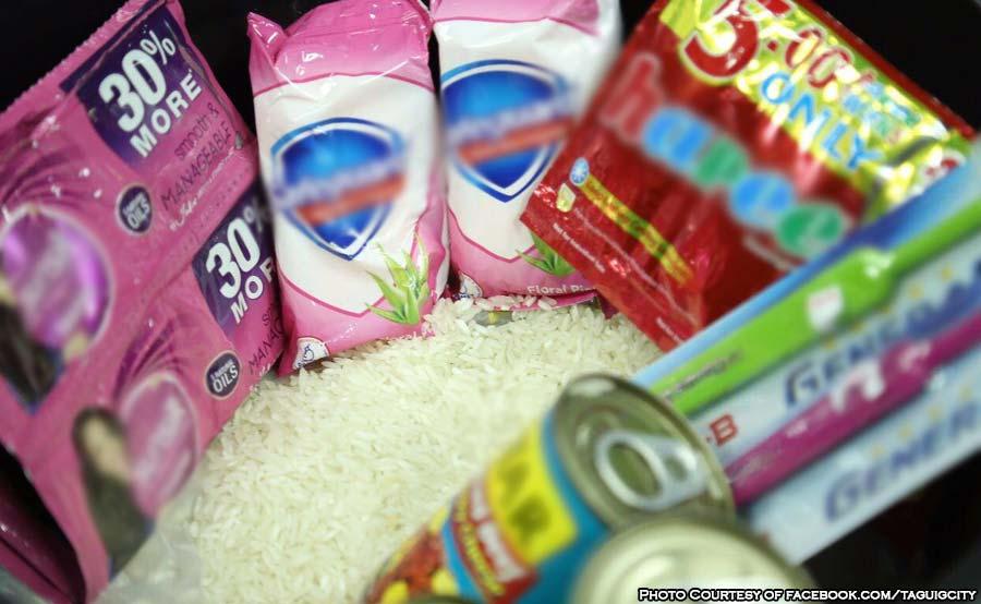ABANTE taguig gov relief goods