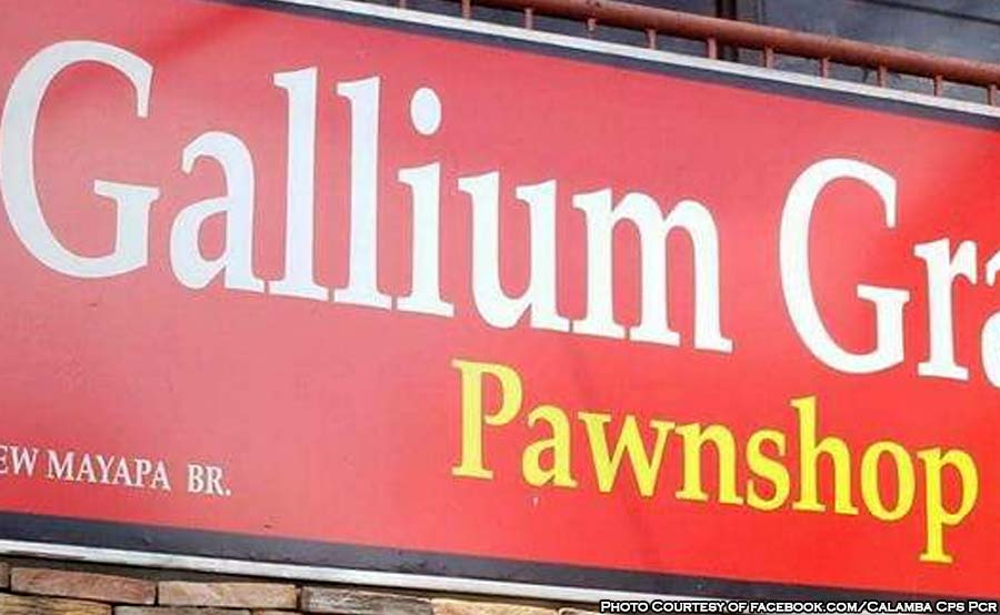 ABANTE termite gang calamba Gallium Granite Pawnshop
