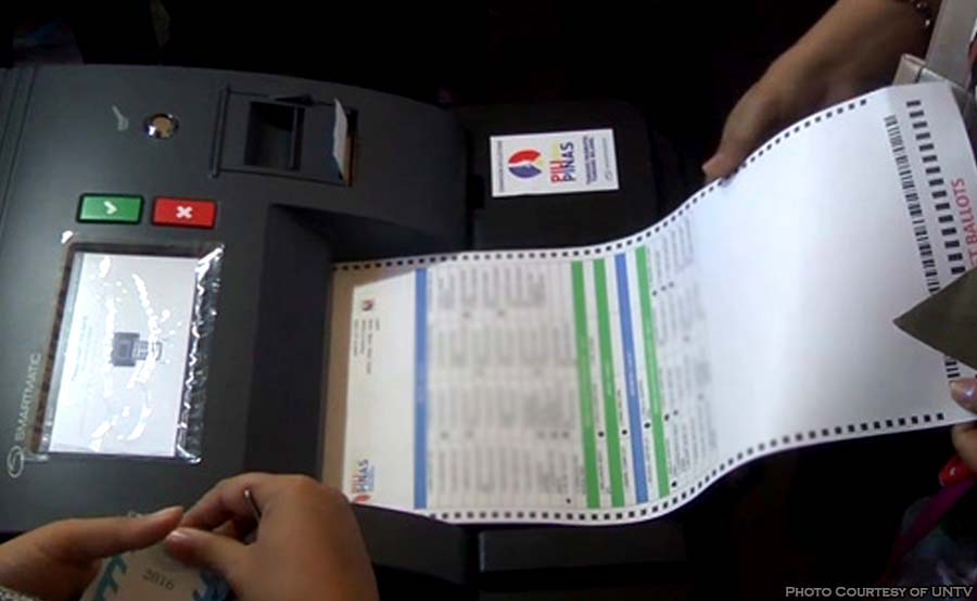 ABANTE voting machine comelec