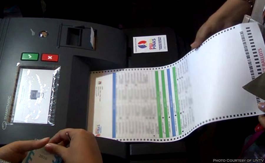 ABANTE voting machine comelec