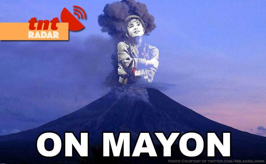 TNT-RADAR lea salonga on mayon