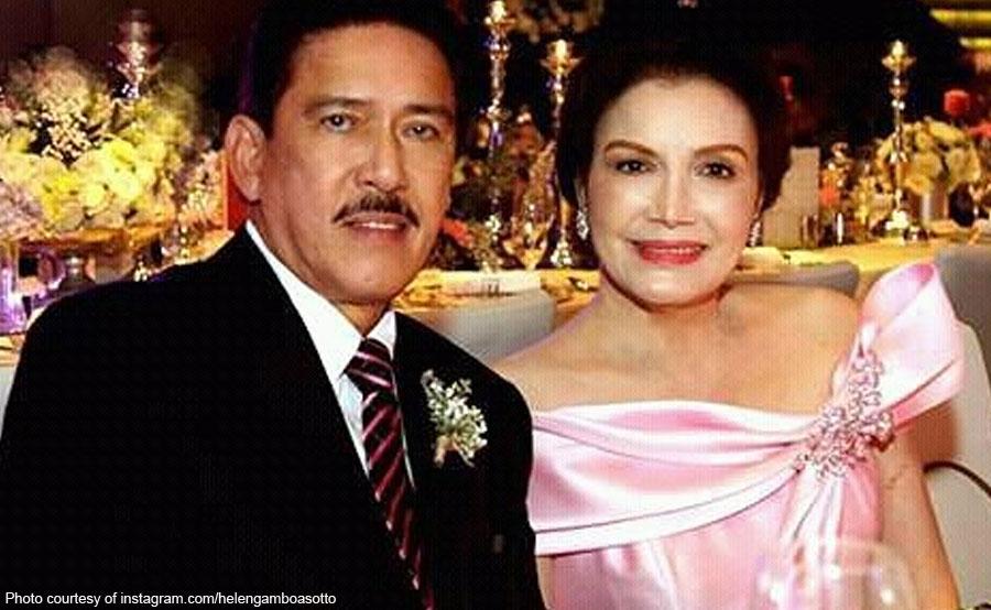 """. Ang bongga lang na halos limang dekada na ang kanilang pagsasama. """"We still laugh together, we enjoy doing things together at sa tingin ko, we are bo"""