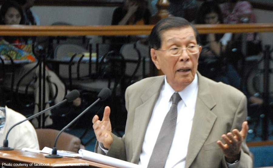 dating Senate President Juan Ponce Enrile
