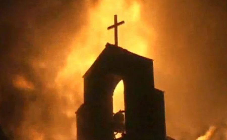 explosion-at-church