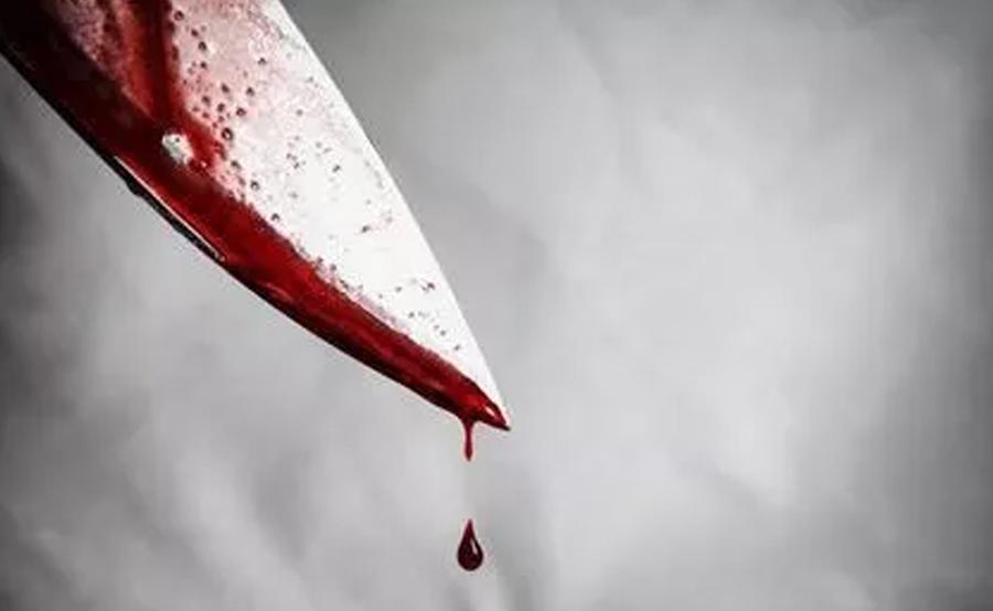 knife-stabbed