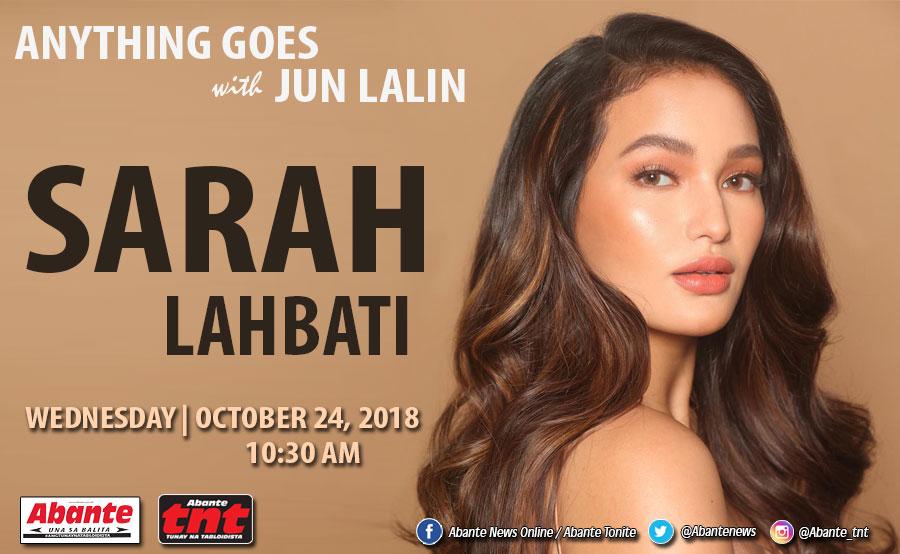 Sarah Lahbati sa Anything Goes! | Abante TNT Breaking News