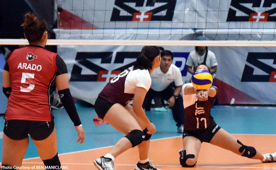 UAAP 81 women's volleyball: Molde, Carlos binuhat ang Lady Maroons