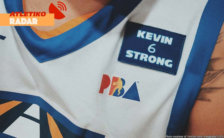 Get well soon! NLEX may special patch para kay Alas
