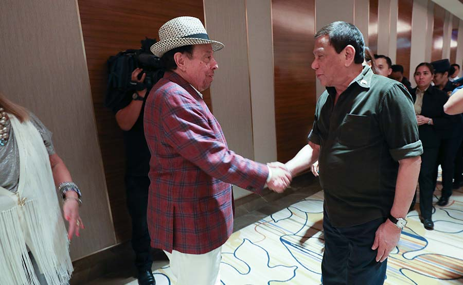 Brazilian singer hindi kilala si Duterte