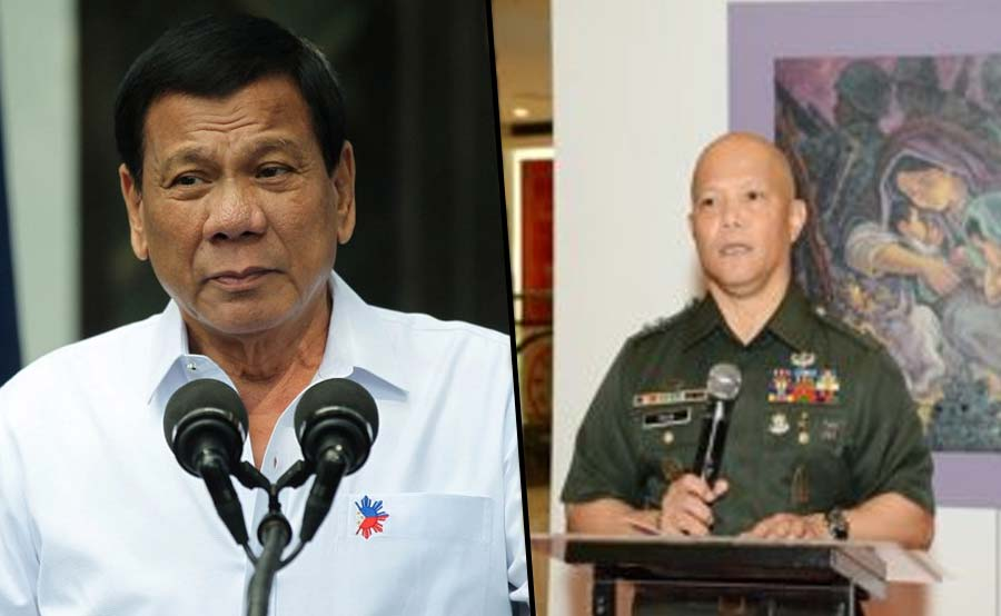 Duterte nagluklok muli ng retired army sa DSWD