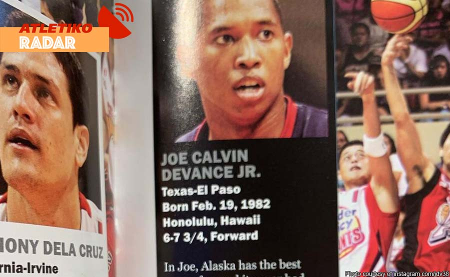 #Thankful: Devance nag-throwback noong 'totoy' pa sa PBA