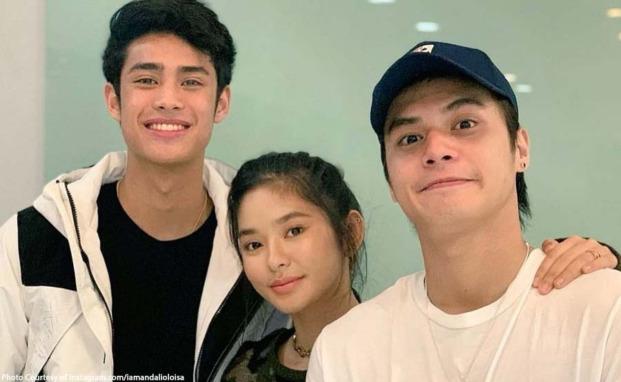 Ronnie, Loisa at Donny bibida sa 'James and Pat and Dave'