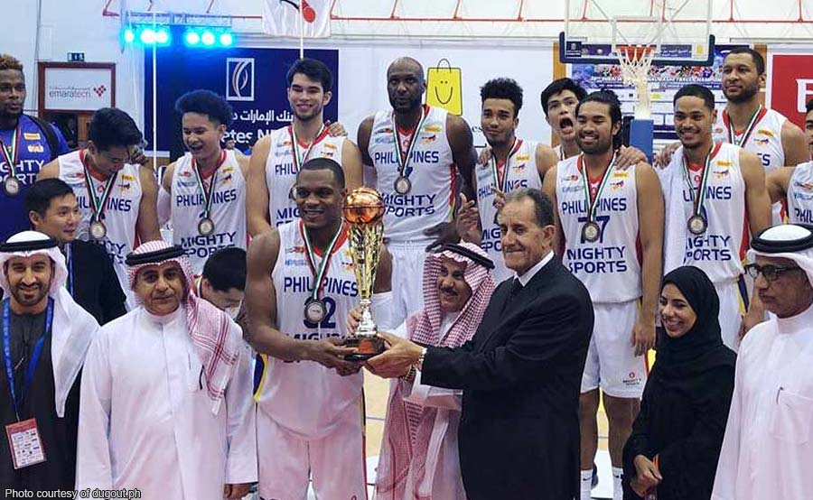 Mighty Sports PH bronze sa Dubai tournament