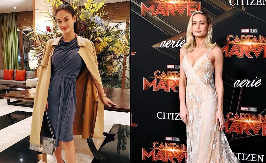 Pang-Hollywood na! Pia Wurtzbach na-interview si 'Captain Marvel'