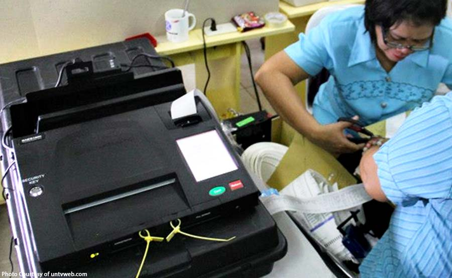 DFA employee sa Middle East, pinagpapraktisan ang election machine