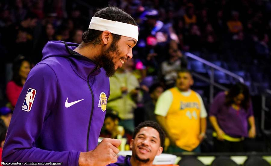 Brandon Ingram 'di matatapos ang season: May blood clot!