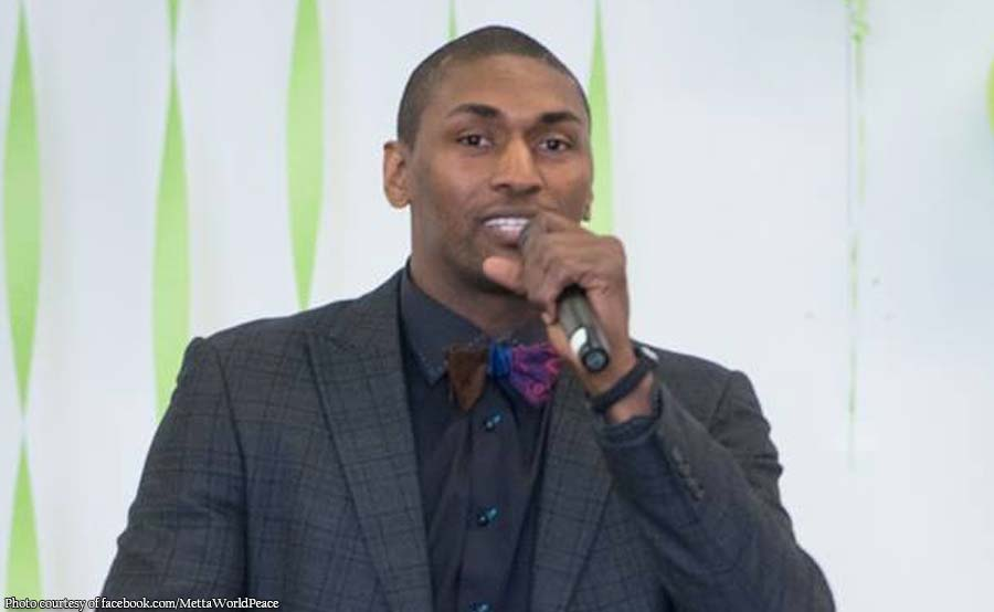 Ex-NBA star World Peace sali sa coaches convention