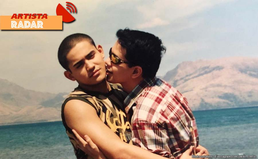 Paolo nag-throwback ng 'Tabing Ilog' photo