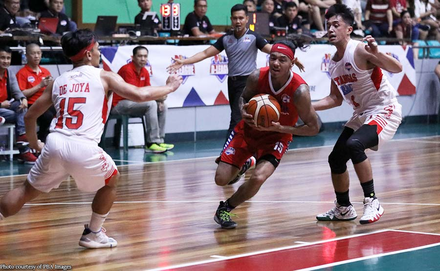 D-League: Munzon, Johnson halimaw sa 2OT win ng AMA