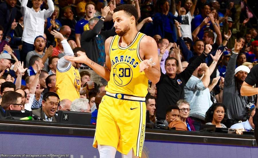 Best shooter pa rin! Steph Curry matagal nang may tama sa mata