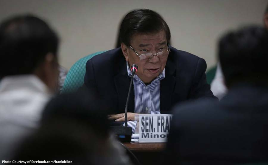 Drilon, kinatigan ang pagrebyu sa loan agreements ng China at PH