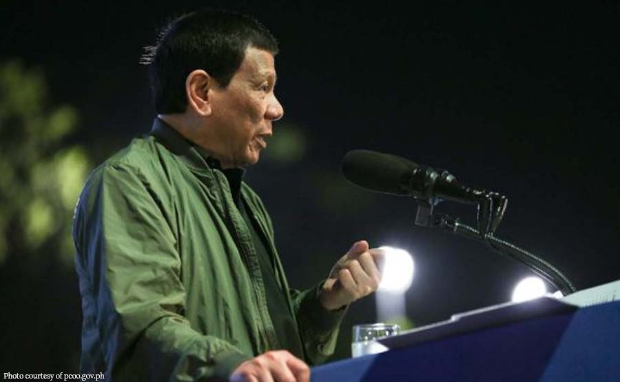Duterte hindi nakadalo sa PDP-Laban campaign rally sa Marawi