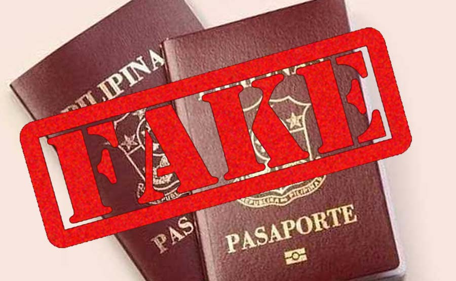 American national, huli sa pekeng passport