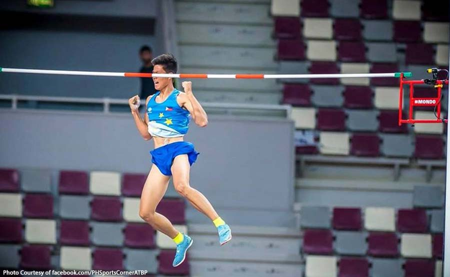 Obiena, 1st Pinoy na naka-gold sa Asian Athletics Championship