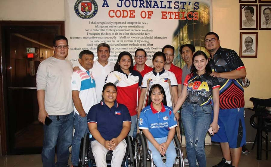 Philippine women's wheelchair basketball team, inspirasyon