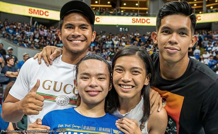 Kiefer, Thirdy proud kay Dani: More championships to come!